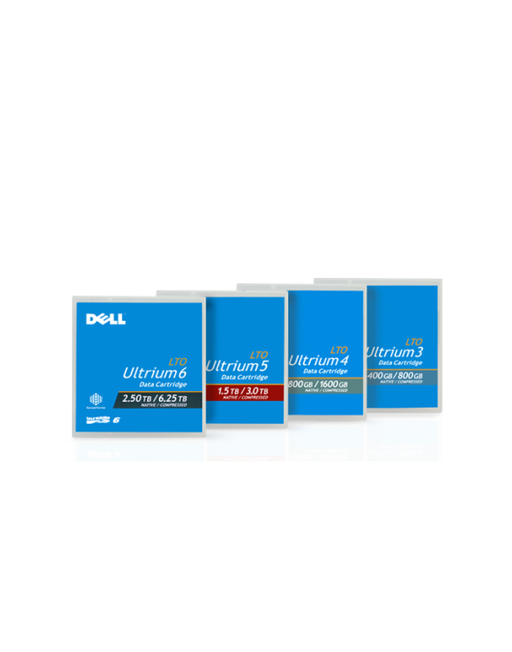 Dell LTO-6 Tape Cartridge 5-Pack – Kit
