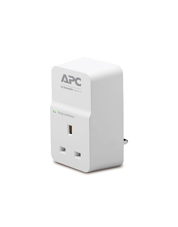 APC Essential SurgeArrest 1 outlet 230V UK – PM1W-UK