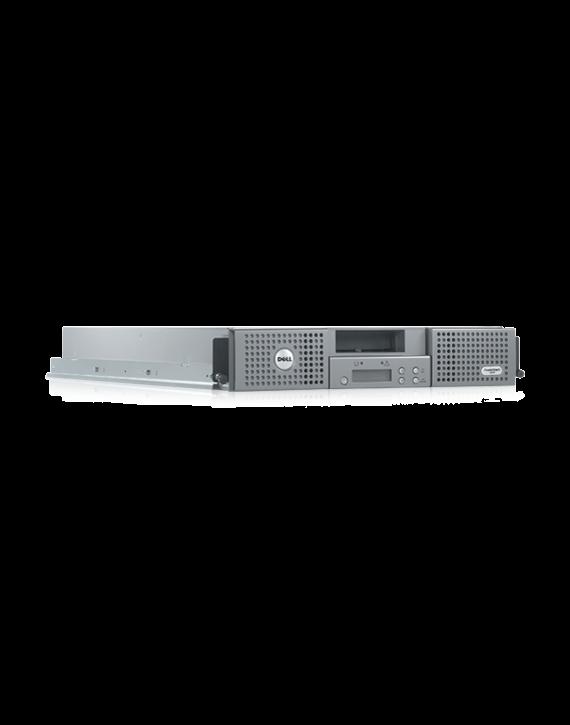 Dell PV124T LTO4-120 SAS 2MAG 2U ALD w/Barcode, 6Gbps SAS Controlle, 2M SAS (MINI2IB) External Cable